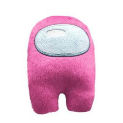 Among Us mini peluche rose