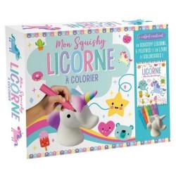 Mon Squishy Licorne à colorier