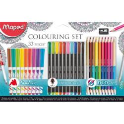 Set de coloriage Maped 33...