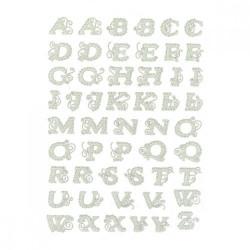 Stickers Dentelle Alphabet