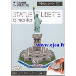 Maquette 3D Statue de la...