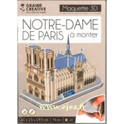 Maquette 3D Notre-Dame de...