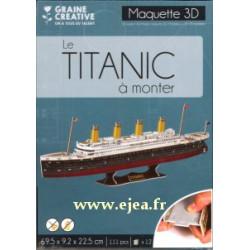Maquette 3D Le Titanic à...