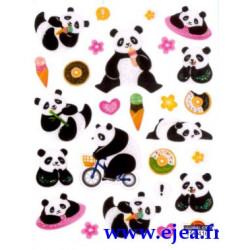 Stickers Mini Classy Pandas