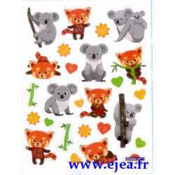 Stickers Mini Classy koalas...