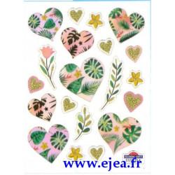 Stickers Mini Classy Coeurs...