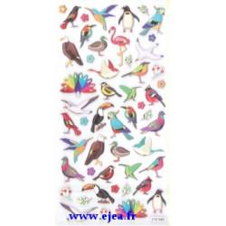 Stickers TWEENY Oiseaux du...