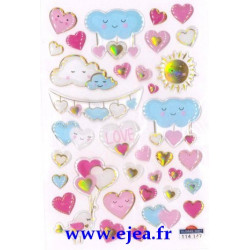 Stickers Mini Sweet Nuages...