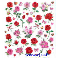 Stickers Classy Roses
