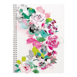 Carnet A4 Blooming Roses