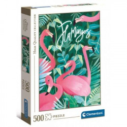 Puzzle Flamingos 500 pièces