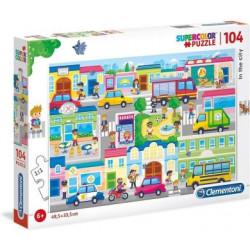 Puzzle En ville 104 pièces