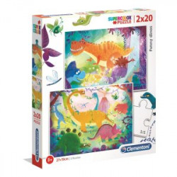 Puzzle SuperColor 2x20...