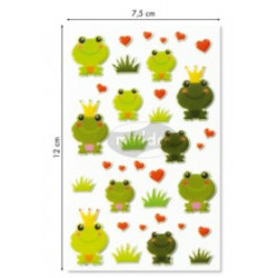 Stickers Cooky Grenouilles
