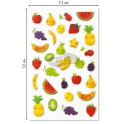 Stickers Cooky Fruits Kawaii