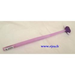 Stylo Coeur violet