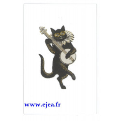 Carte double Icônes Chat...