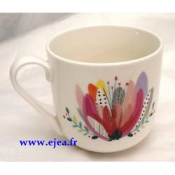 Mug Fleur multicolore Laura...
