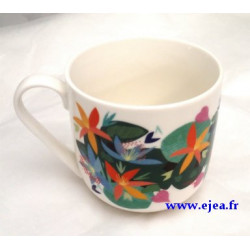 Mug Fleurs orange Laura...