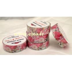 Masking tape Roses et...