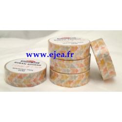 Masking tape Tangram