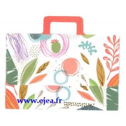 Enveloppe porte-billet Plantes