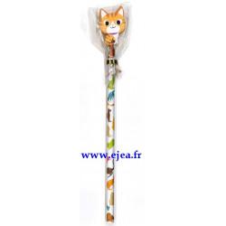 Crayon à papier Chat tigré...