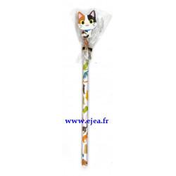 Crayon à papier Chat isabelle