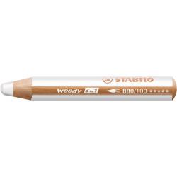 Crayon Woody 3 en 1 Blanc