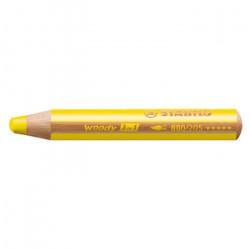 Crayon Woody 3 en 1 Jaune