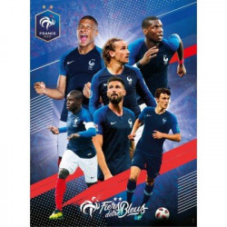 Puzzle Avec Les Bleus 250...
