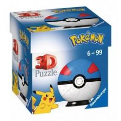 Puzzle 3D Pokémon Superball