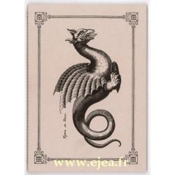 Carnet A5 Dragon Chimère