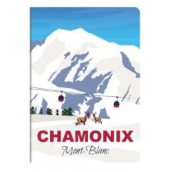 Carnet France A6 Chamonix...