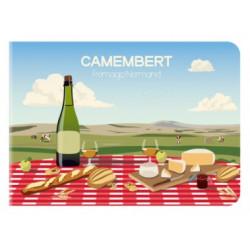 Mini Carnet France Camembert