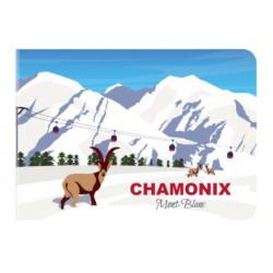 Mini Carnet France Chamonix...