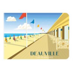 Mini Carnet France Deauville