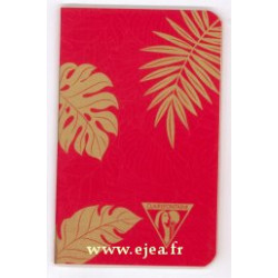 Carnet Neo Deco A7 rouge...