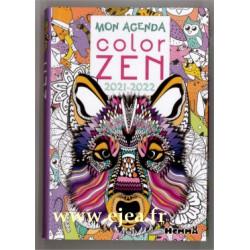Agenda scolaire Color Zen...