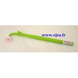 Stylo Fleur Clochette rose