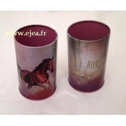 Pot à crayon cheval Free Horse