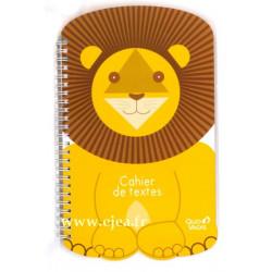 Cahier de textes Lion