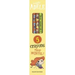 Mortelle Adèle 5 crayons...