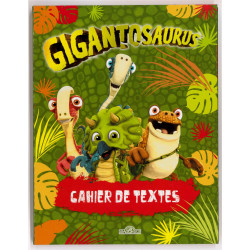 Cahier de textes Gigantosaurus