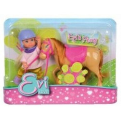 Evi Love et son poney alezan