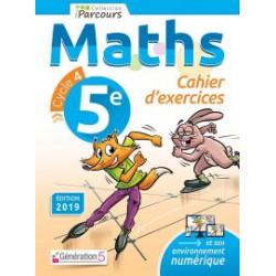Maths Cahier d'exercices 5e