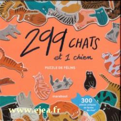 Puzzle 299 chats et 1 chien