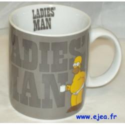 Homer Simpson Mug Ladie's man