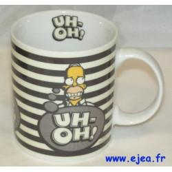 Homer Simpson Mug Uh-oh !