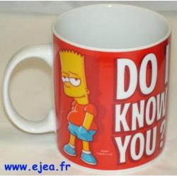 Bart Simpson Mug Do i know...